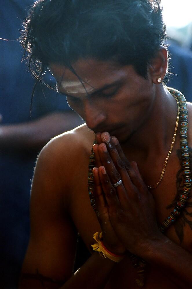 Hands in prayer by richardseah