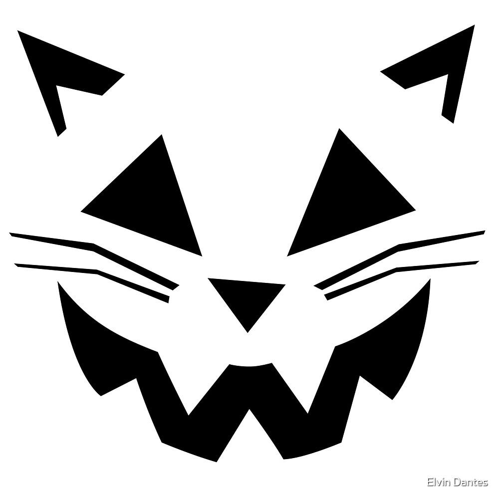 Cat Jack O' Lantern by Elvin Dantes