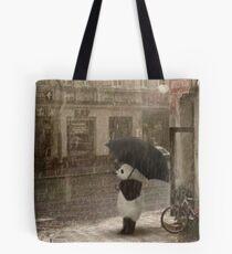 It's raining outside Tote Bag