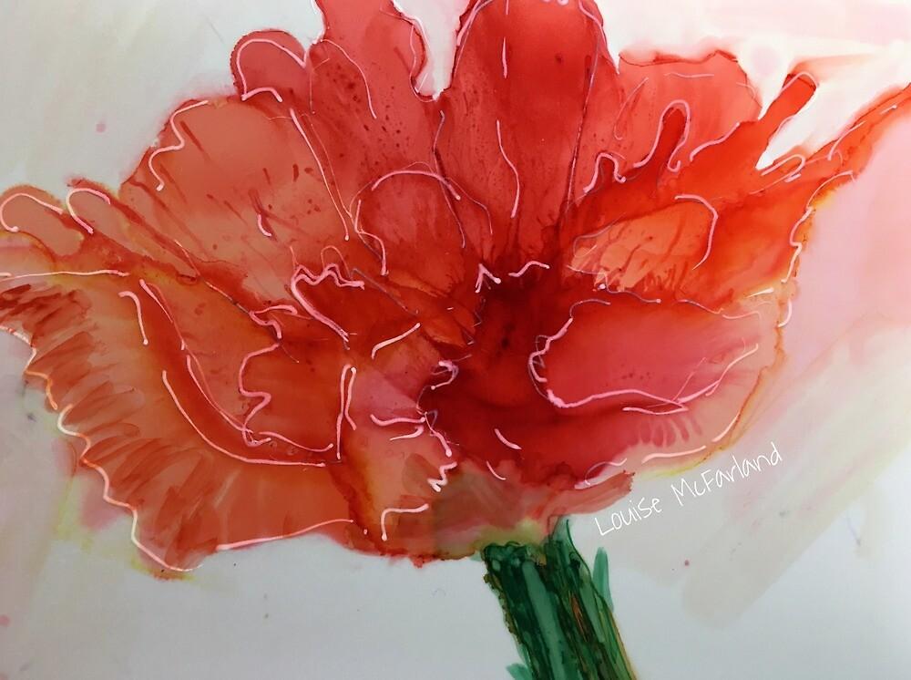 Happy Poppy by LouiseMcFarland