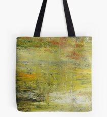 Yellow Non Representational Painting  Tote Bag