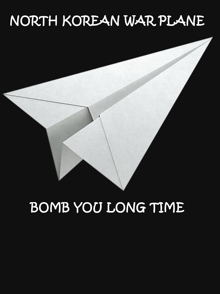 North Korean War Plane Mochery by SummitCompany