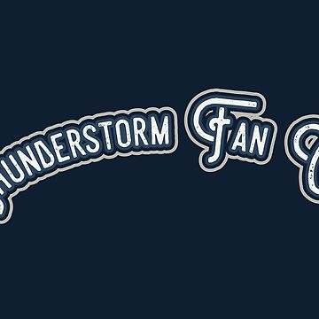 Thunderstorm Fan Club - Smoke & Inky Blue Version by LoveOfDictums