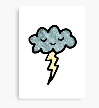 Thunder cloud Canvas Print