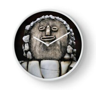 Nek Chand Fantasy 5 - CLOCK by Glen Allison
