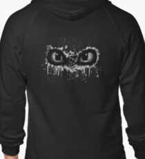Toothless Eyes Black and White T-Shirt