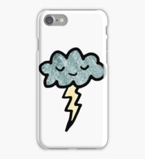Thunder cloud iPhone Case/Skin