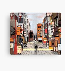 Early Morning Ride Canvas Print