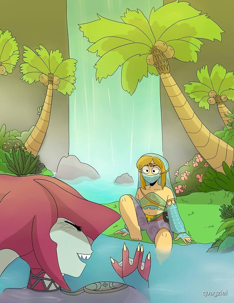 Sidon & Link by quayziel