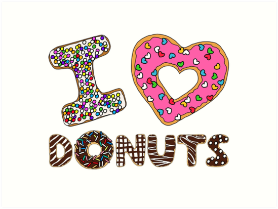 I LOVE DONUTS by Max Lee