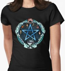 The Pentacle of Water Women's Fitted T-Shirt