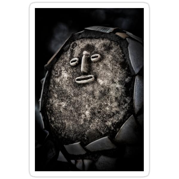 Nek Chand Fantasy 1 - STICKER by Glen Allison