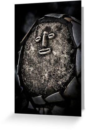 Nek Chand Fantasy 1 - GREETING CARD by Glen Allison