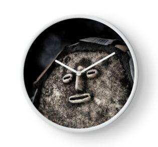 Nek Chand Fantasy 1 - CLOCK by Glen Allison
