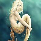 Sea Green Mermaid by CatAstrophe