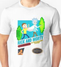 Rick and Morty Nes T-Shirt