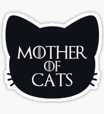Mother of Cats Bold Sticker