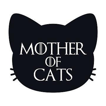 Madre de los gatos audaz de annmariestowe