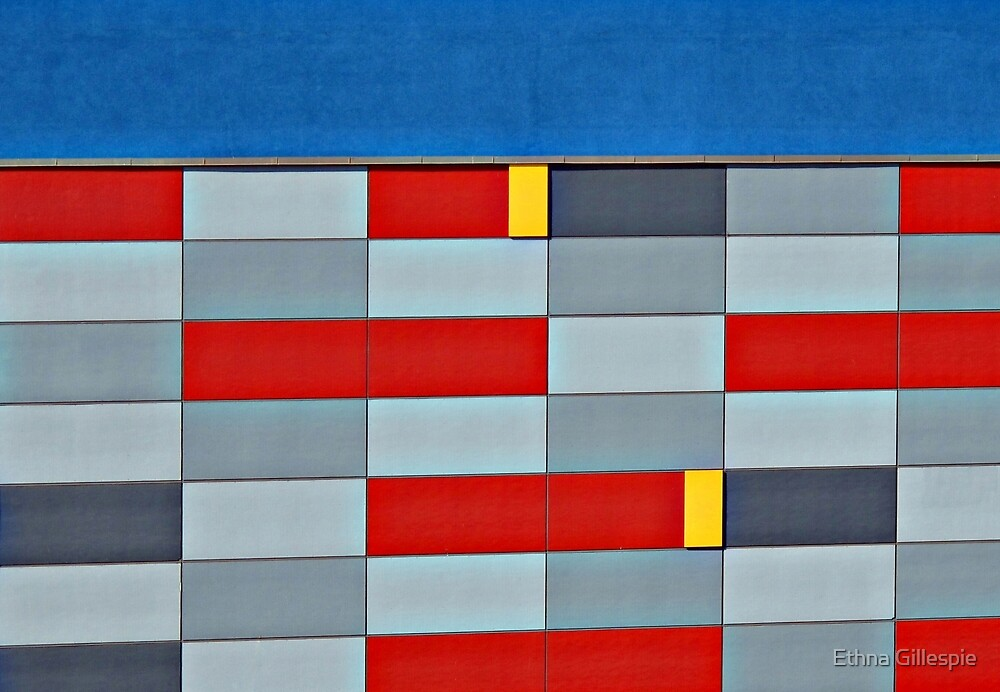 Mall Wall  by Ethna Gillespie