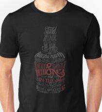 Camiseta ajustada Versión Whisky Red
