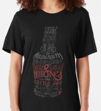 Whisky Rote Version Slim Fit T-Shirt