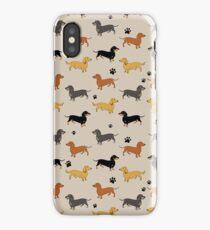 Weenie Weenies (Dachshund Sausage Dog) iPhone Case/Skin