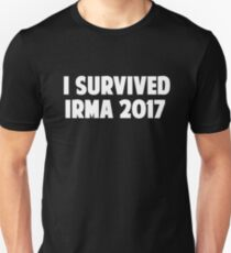 I Survived Irma 2017 Men's Women's T-Shirt T-Shirt