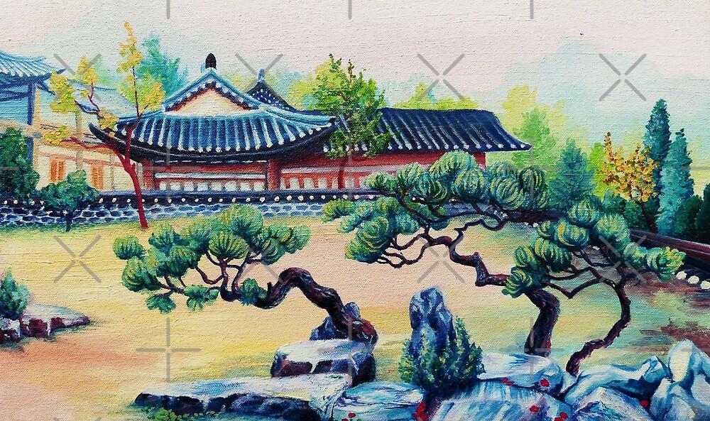 Three Pines by tahniosterman