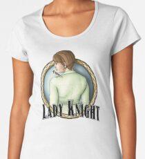 Camiseta premium de cuello ancho Keladry - Lady Knight