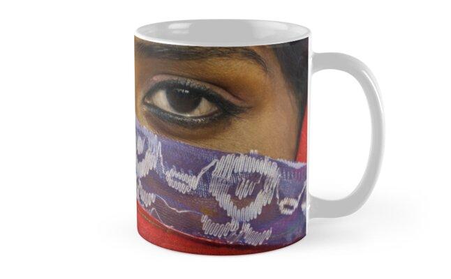 Gypsy Eyes - Mug by Glen Allison