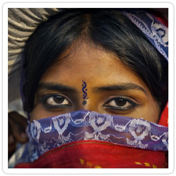 Gypsy Eyes - Sticker by Glen Allison