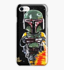 boba fett first 21 iPhone Case/Skin