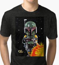 boba fett first 21 Tri-blend T-Shirt