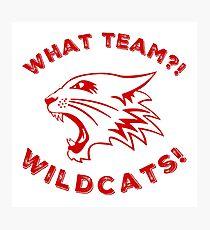 What team?! Photographic Print