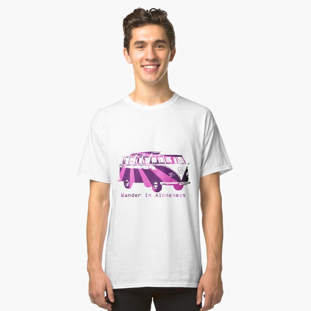 Wander  Classic T-Shirt Front