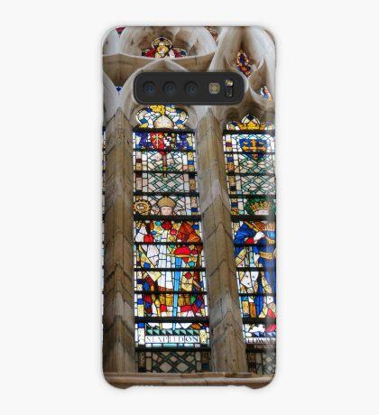 Atemberaubende Buntglasfenster Hülle & Klebefolie für Samsung Galaxy