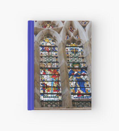 Atemberaubende Buntglasfenster Notizbuch