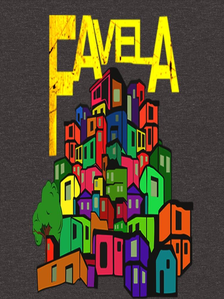 Favela of Rio de Janeiro by BorbaBacco