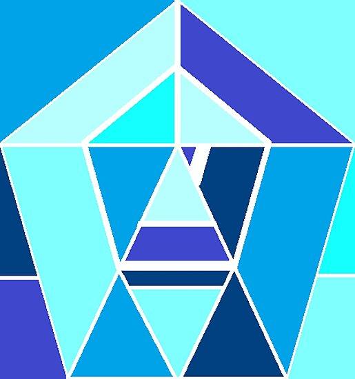 Blue chrome by Jordan Hughbanks