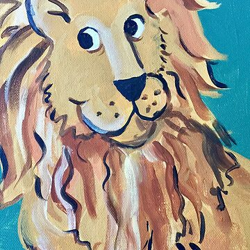 A Very Friendly Lion by Lauraart70