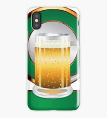 Glass of beer iPhone Case