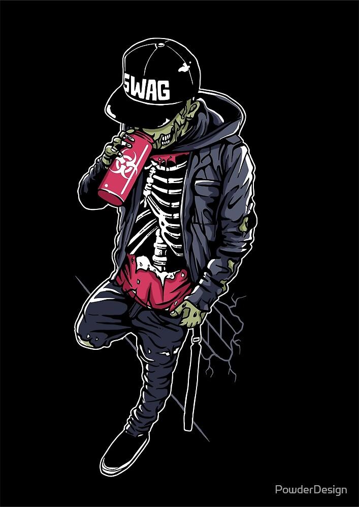 Swag Zombie! by PowderDesign