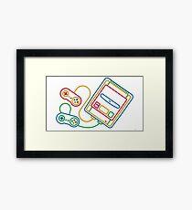 Super Famicom Boxart Framed Print