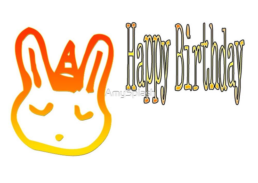 Happy Birthday by AmySplash