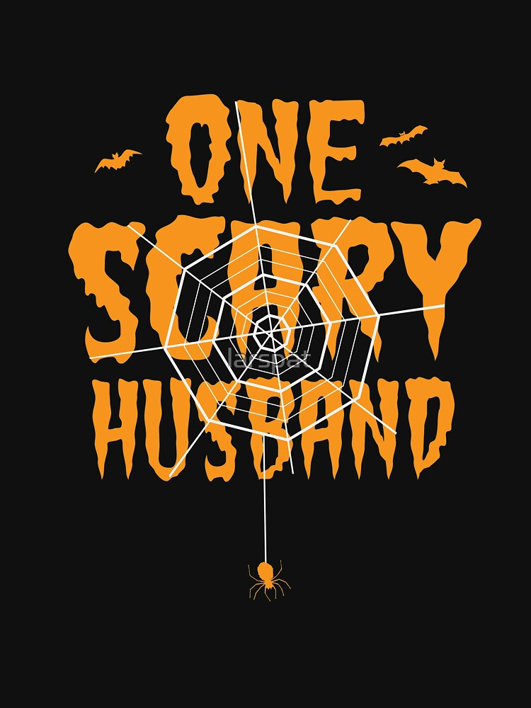 One Scary Husband T-Shirt Funny Halloween Tomb It May Concern Tees by larspat