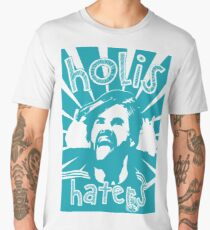 HOLIS HATERS - ISCO EDITION - TURQUOISE Men's Premium T-Shirt