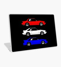 Ford Mustang Fox Körperseite Laptop Folie