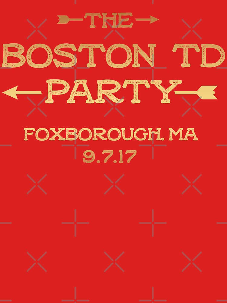 The Boston TD Party shirt  by JustBeAwesome