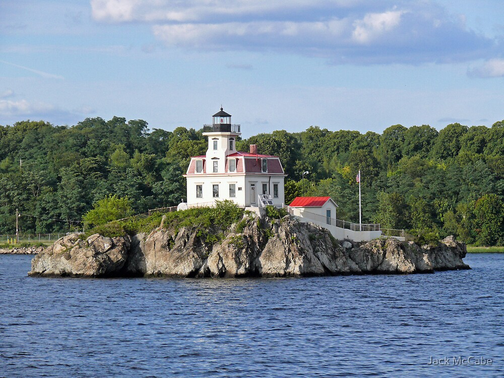 Lighthouse on Pomham Rocks | Narragansett Bay Series *featured by Jack McCabe