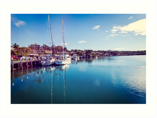 Currambene creek Huskisson New South Wales. by DavidMay